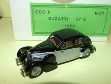 BUGATTI 57 C 1959 CCCF KIT Monté 1:43