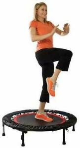 Urban Rebounder Workout DVD Stabilizing Bar Commercial-Quality Mini Trampoline