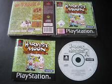 Harvest Moon Fehlerfrei PS1 / Playstation 1 PSX komplett in OVP & Anleitung
