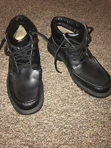 Clarks Cushion Cell Extra Wide Mans Shoes Size 7,5 - Worn Only One Day !