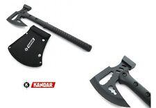 """Kandar Axt Tomahawk """"Tactical"""" ABS Griff Nylonscheide 44305 M48 OUTDOOR Camping"""