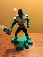 """McDonald's POWER RANGERS SAMURAI- 2012 Green Ranger. Approx 4""""!"""
