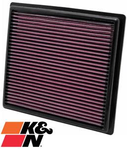 K&N REPLACEMENT AIR FILTER FOR LEXUS ES350 GSV60R 2GR-FE 3.5L V6
