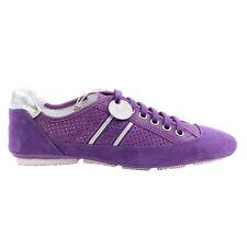 HOGAN Damen Sneaker Schuhe PROGETTO WRAP FORATO Violett 3820