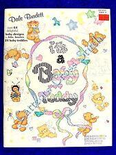 Cross Stitch Pattern It's A Baby Teddy 64 Baby Designs Teddies Dale Burdett