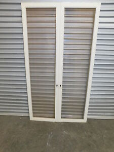 Fly Screen Doors, Timber with Gold Mesh, 5m