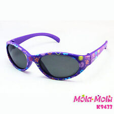 90080ccd66 Baby Sunglasses Girl infant Polarized Purple cute Anti-UV MOLA MOLA 1-2  Years