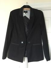 NEXT Black Tux Style Blazer Jacket Size 14