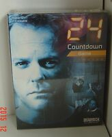 24 Countdown Board Game TV NEW Sealed 2006 Briarpatch Jack BAUER Terrorist Card