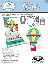 Elizabeth Crafts Designs Cutting Die Set HOT AIR BALLOON WITH POP UP  ~1106