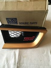NEW GENUINE SUBARU IMPREZA STI FRONT LEFT HAND GRILL PANEL