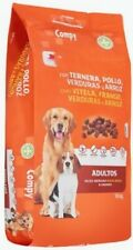 Adult dog food with beef, chicken, vegetables and rice 10kg  *FREE SHIPPING*