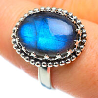 Labradorite 925 Sterling Silver Ring Size 9.25 Ana Co Jewelry R48733F
