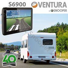 """Snooper S6900 Ventura GPS Motorhome Caravan Sat Nav 7"""" w/ Active Magnetic Mount"""