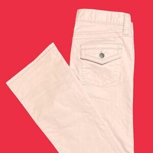 LONDON  JEAN ... Pink  Bootcut  Cotton  Denim  Jeans ... Size  6
