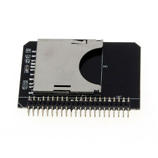 SD SDHC SDXC MMC Memory Card to IDE 2.5 Inch 44Pin Male Adapter Converter Perfec