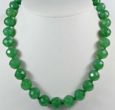 Fashion Jewelry Fashion Necklaces & Pendants 8mm Natural 14-100 Inches Long Green Emerald Gems Round Beads Stranded Necklaces