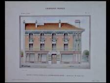 LA GARENNE COLOMBES, MAISON - 1908 - GRANDE PLANCHE COULEUR - LA GARENNE BEZONS