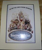 Snow White and The Seven Dwarfs In the Marvelous Multiplane Technicolor Print