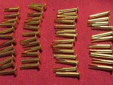 """50 brass split rivets 5/8 + 1/2"""" for Gibson Les Paul es archtop L guitar case"""