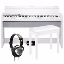Korg LP-380 Digital Piano - White COMPLETE HOME BUNDLE