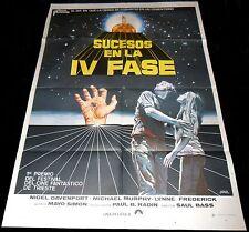 1974 Phase IV ORIGINAL SPAIN POSTER Saul Bass CULT Sci-Fi Horror UNIQUE Jano ART