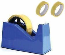 More details for desktop heavy duty heavy weight sellotape cellotape tape dispenser +2 rolls tape