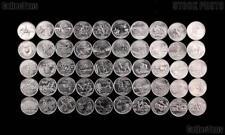 1999-2009 Us State Quarters Complete Unc Set Denver- 56-Coins