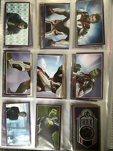 Panini ROAD TO MARVEL AVENGERS ENDGAME - Loose Stickers - CHOOSE FROM HUGE LIST!
