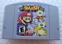 ✅ GREAT* Authentic Super Smash Bros Nintendo 64 N64 Video Game Cart Variant Rare