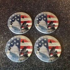 United States Capitol Stone Drink Coasters Set Of Four