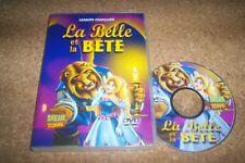 DVD LA BELLE ET LA BETE dessin animé