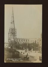 Gloucestershire Glos BRISTOL St Mary's Redcliffe 1914 RP PPC