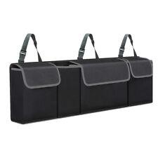 US Black Storage Organizers Cargo Bag Holder Universal Car Trunk SUV Back Seat