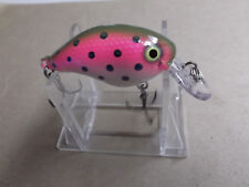 Custom Painted Rapala Wood DT-4,DT-4,Bagley's Trout