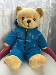 """Bear Factory Cute Plush Soft Toy Teddy Bear In A Hoodie Tracksuit 16"""" VGC"""