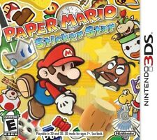 Paper Mario: Sticker Star  Nintendo 3DS Game Only