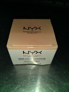 NYX  Full Coverage Dark Circles Concealer Jar DCC01 Fair Complexion, New