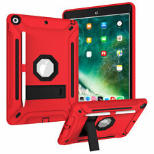 """For Apple iPad 7th Generation 10.2"""" Rubber Hard Kickstand Shockproof Case Cover"""