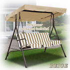 """NEW Patio Outdoor 77""""x43"""" Swing Canopy Replacement Porch Top Seat Cover Only"""