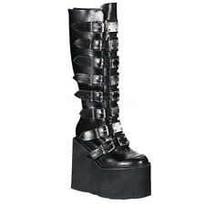 Demonia Solid Women's Buckle