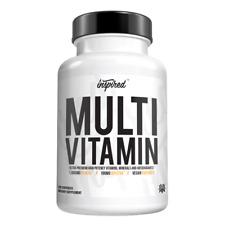 Inspired MultiVitamin/Ultra Premium Vitamins-Minerals-Antioxidants/100% Vegan
