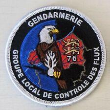 Ecusson patch Gendarmerie collection Groupe local de contrôle des flux GLCF76