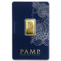 5 gram Gold Bar - PAMP Suisse Lady Fortuna Veriscan® (In Assay) - SKU #82247