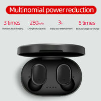 A6S TWS Mini Airdots HEADSET Bluetooth 5.0 Earphone Headphone STEREO Earbuds JA