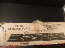 Scalextric PT79 French Chicane Ford, unused and boxed