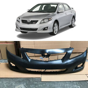 Front Bumper Cover Replacement for 2009 2010 Toyota Corolla LE CE Ready to Paint