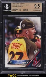 2016 Topps Update All Star Mike Trout SHORT PRINT #US175B BGS 9.5 GEM MINT