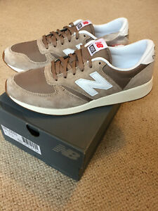 BNIB NEW BALANCE MRL420S3 BEIGE SUEDE TRAINERS UK9.5 US10 EU44 DEADSTOCK RARE