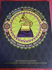 2011 53RD ANNUAL GRAMMY AWARDS PROGRAM BRUNO MARS LADY GAGA KATY PERRY BIEBER
